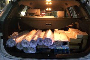 Пресс-Воллы Слим, 9 модулей 100*250 транспортировка в багажнике